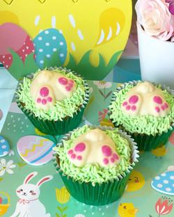 Cupcakes conejito chocolate blanco