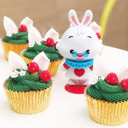 Cupcakes conejito Alicia