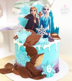Tarta Frozen 2