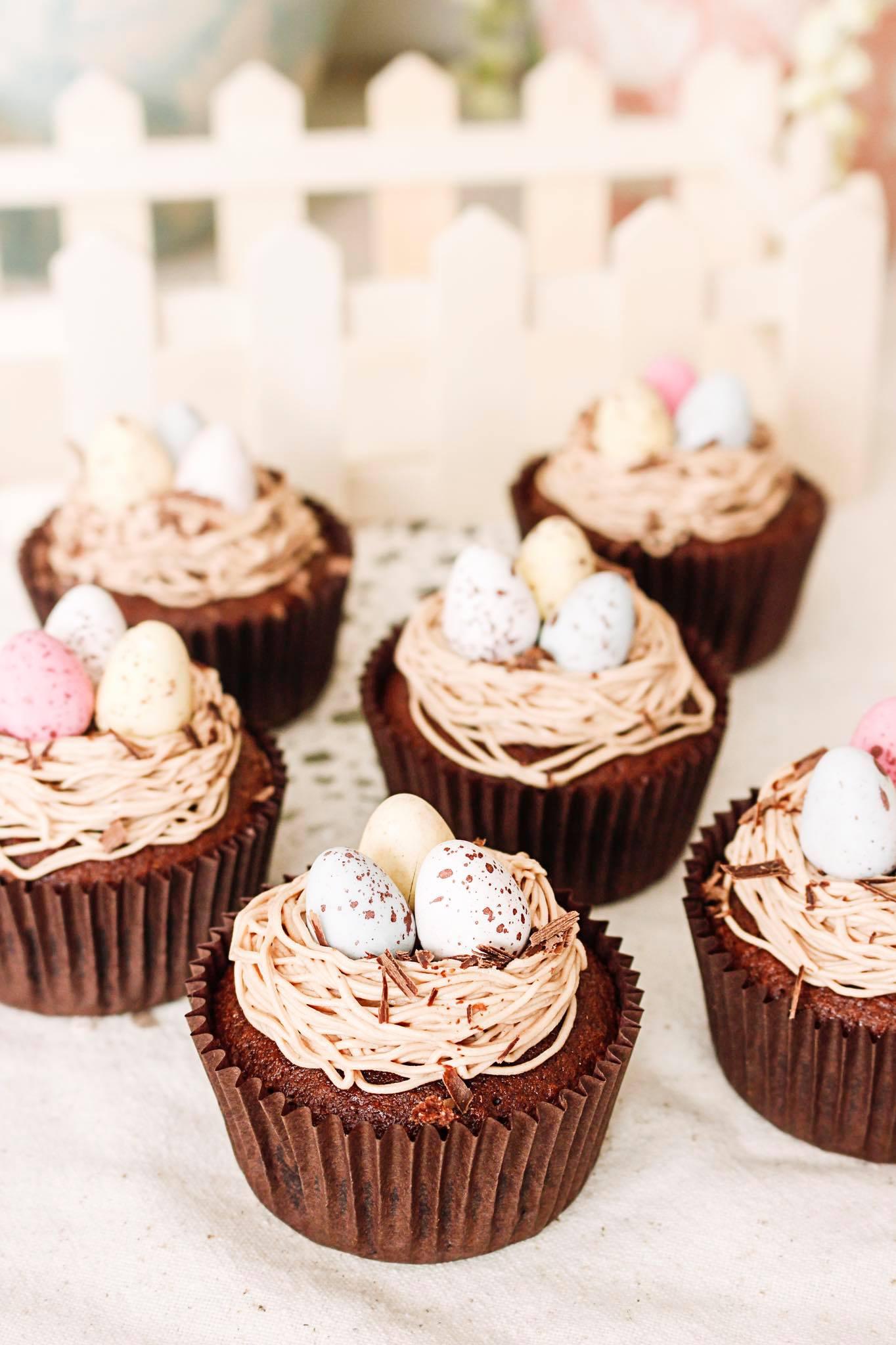 Cupcakes nido
