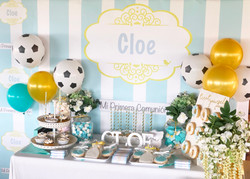 Mesa dulce Comunión Cloe