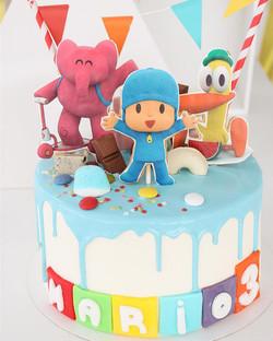 Drip cake Pocoyo
