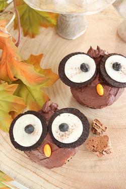 Cupcakes buho