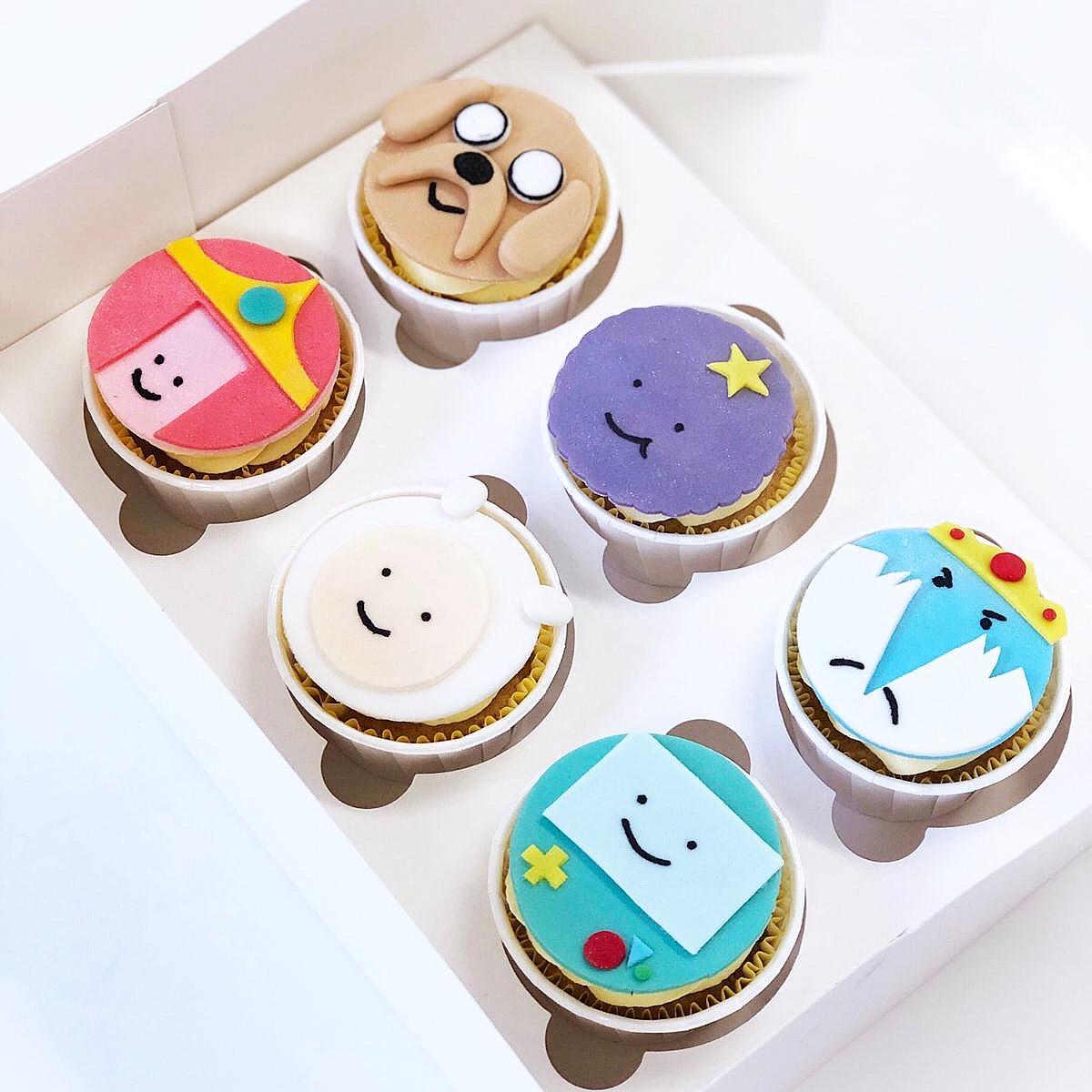 Cupcakes Hora de Aventuras