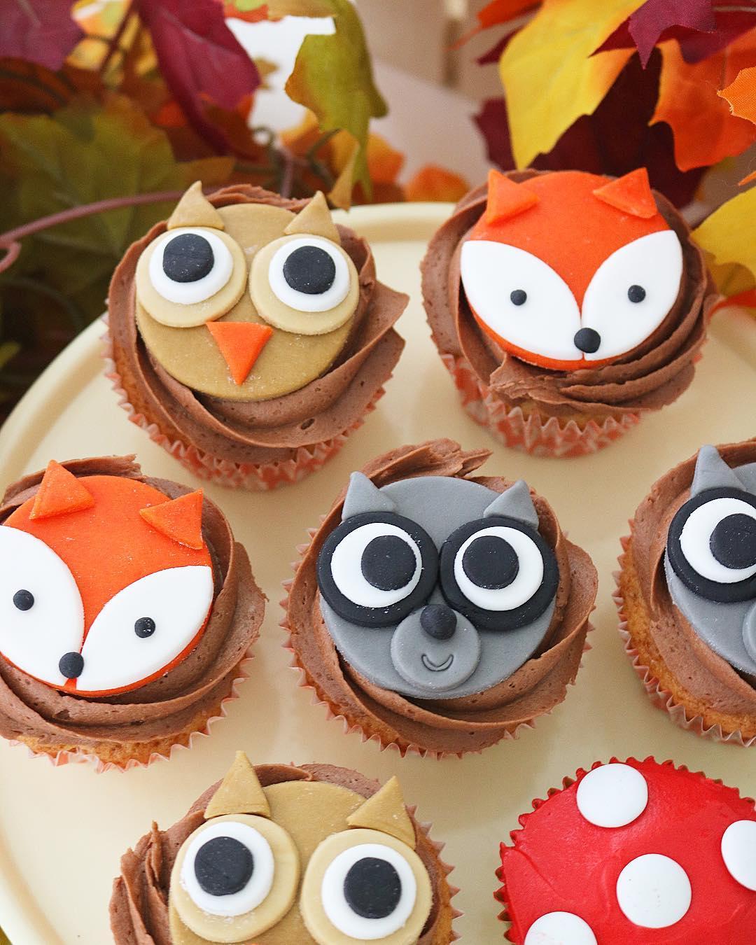 Cupcakes animales