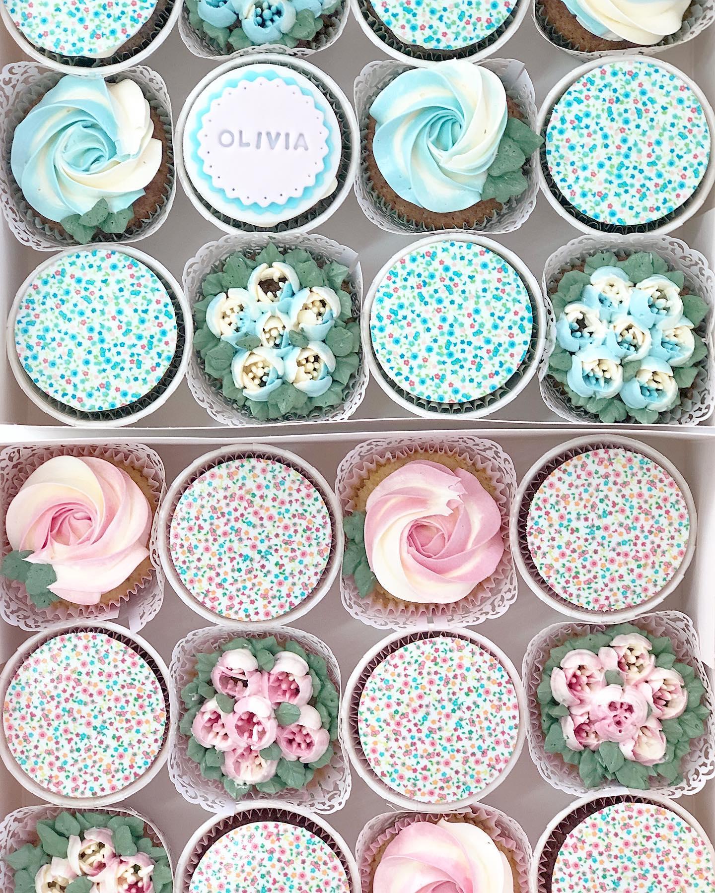 Cupcakes florales