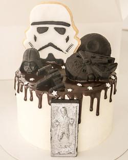 Drip cake Star Wars