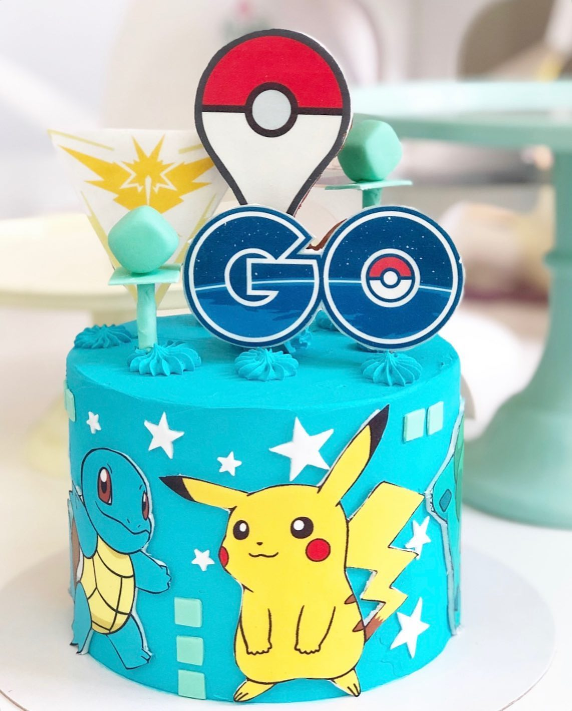 Tarta Pokemon Go