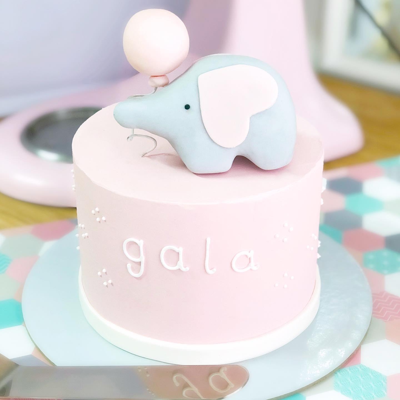 Tarta elefantito globo