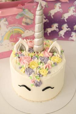 Tarta unicornio pequeña