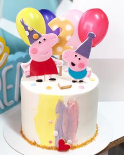 Tarta cumpleaños Peppa