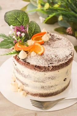 Semi nude cake de naranja