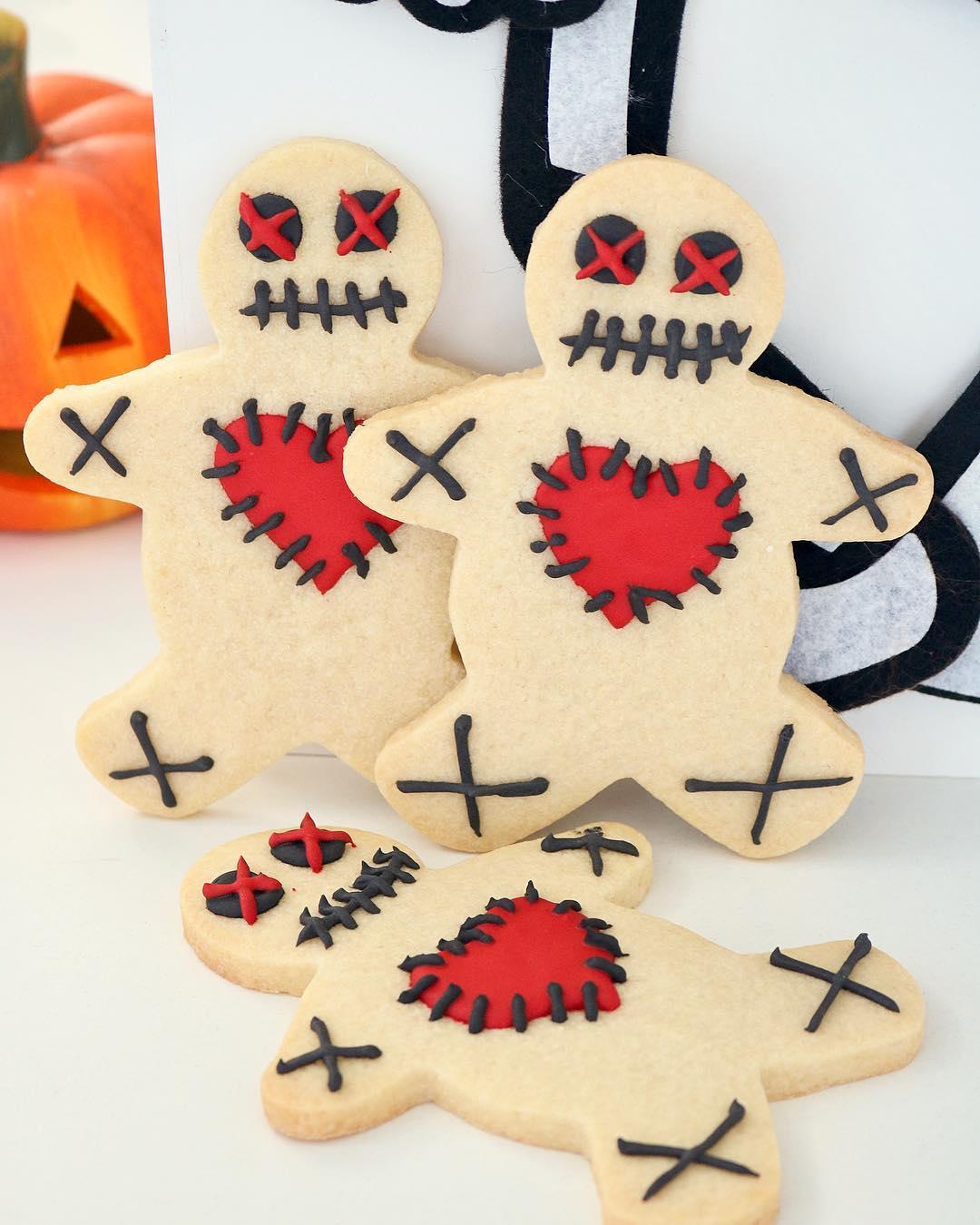 Galletitas Halloween Muñeco