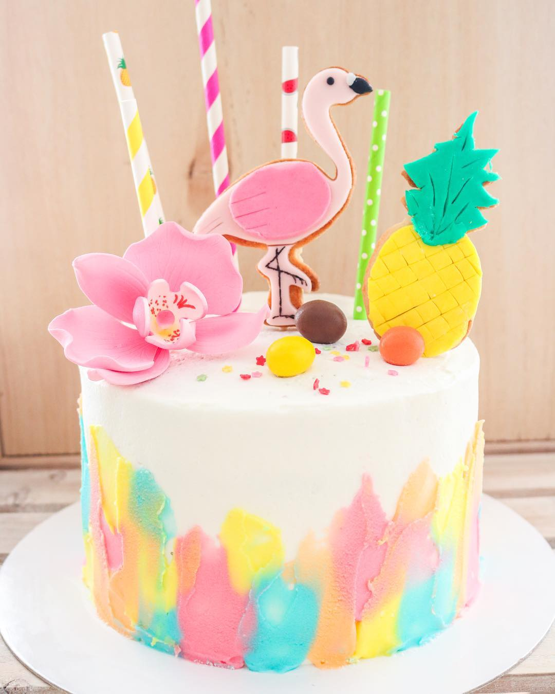 Tarta tropical