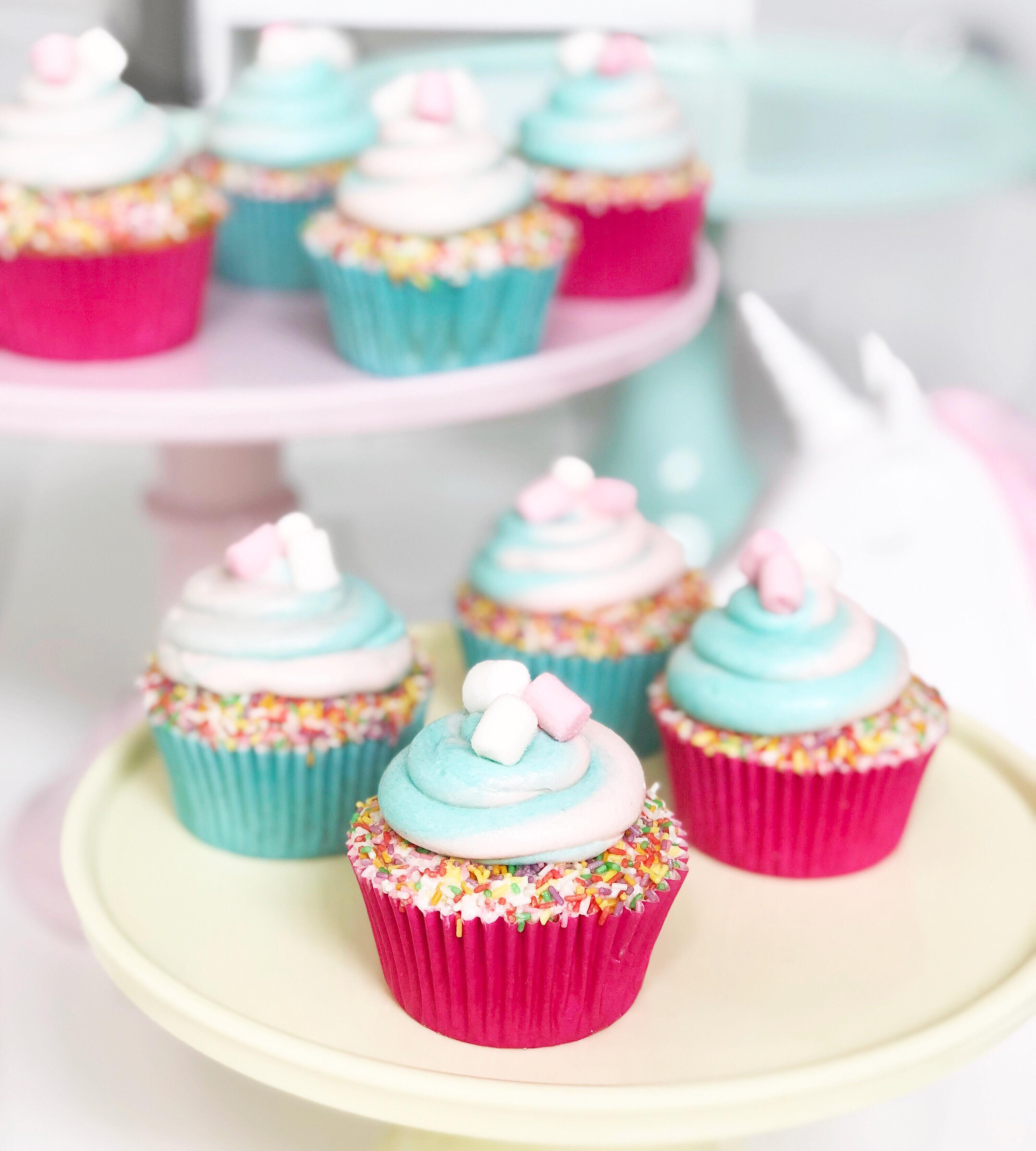 Cupcakes vainilla y nube