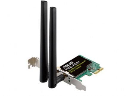 ASUS PCE-AC51 CARTE PCI-E WI-FI DOUBLE BAND AC750
