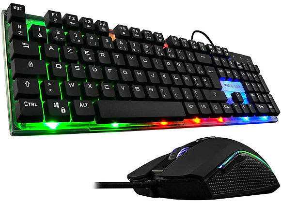 THE G-LAB GAMING COMBO ZINC - CLAVIER/SOURIS