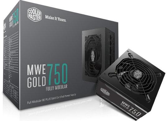 COOLER MASTER MWE 750W FM 80+ Gold
