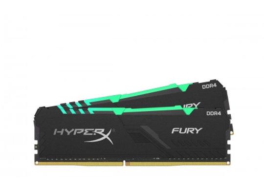 DDR4 Hyper X fury RGB 32 Go 3200Mhz 2X16 Go