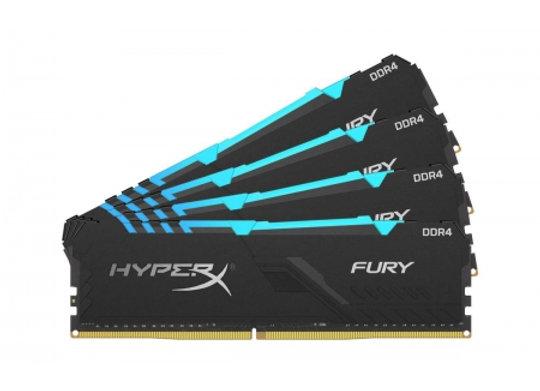 DDR4 Hyper X fury black RGB 32 Go 2400Mhz 4X8 Go