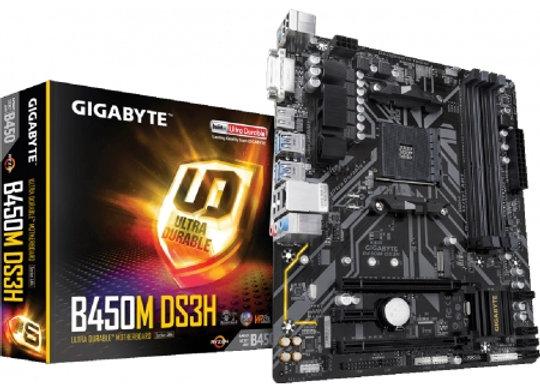 GIGABYTE GA-B450M-DS3H