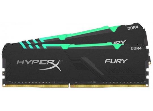 DDR4 Hyper X fury black RGB 16 Go 3000Mhz 2X8Go