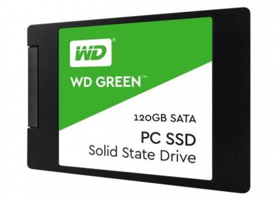 SSD WESTERN DIGITAL 2.5 SATA 120Gb GREEN