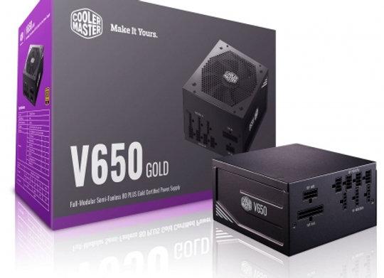COOLER MasterWatt V 650W 80+Gold