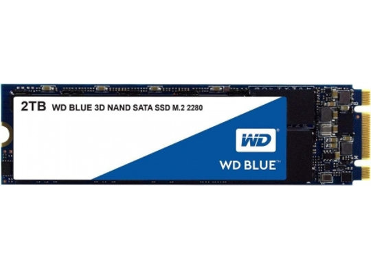 SSD WESTERN DIGITAL SATA6 2T M.2 BLUE