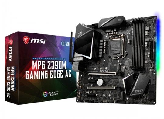 MSI MPG Z390M GAMING EDGE AC