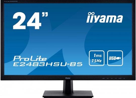 "IIYAMA 24""LED Multi.*E2483HSU-B5*DP*1ms"