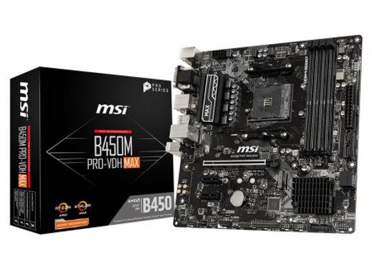 MSI B450M PRO-VDH MAX