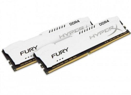 DDR4 Hyper X fury Blanche 16 Go 3200Mhz 1X16 Go