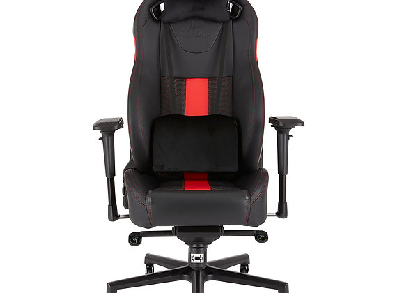 Corsair  T2 ROAD WARRIOR - NOIR/ROUGE/SIMILI CUIR/4D