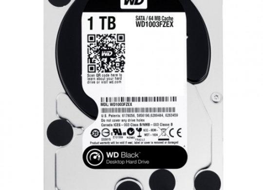 WD Black 1To SATA600 64Mo cache 7200T