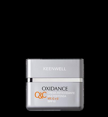 "KEENWELL ""OXIDANCE"" ANTIOXIDANT TAGESCREME VIT. C+C LSF 15 50 ML"
