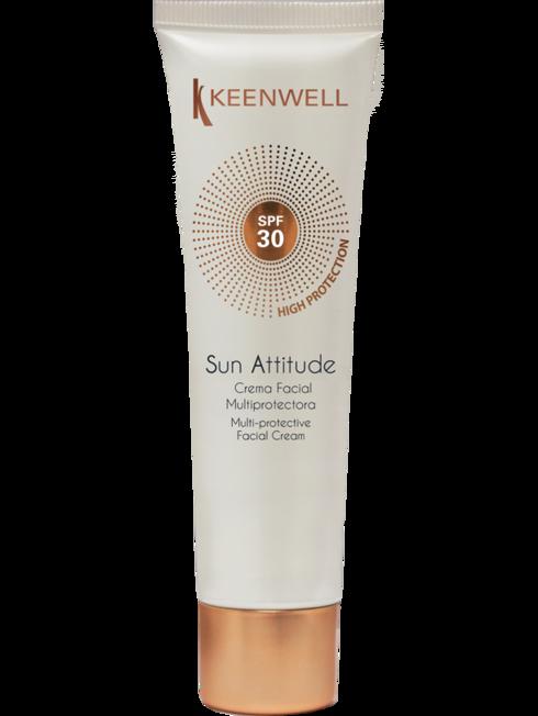 """""""SUN ATTITUDE"""" MULTI-PROTECTIVE FACIAL CREAM SPF 30 60 ML"""