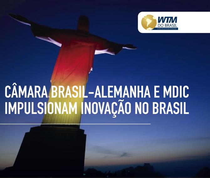 Câmara Brasil-Alemanha e MDIC impulsionam inovação no Brasil