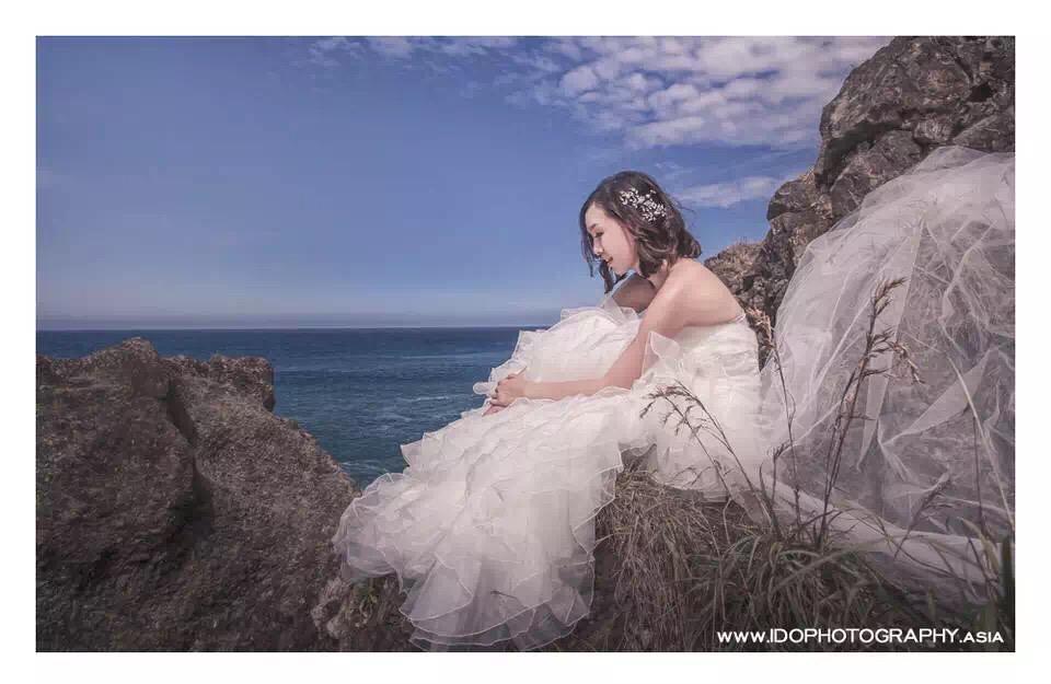婚禮新秘彩妝造型 Michelle Chang台灣花蓮婚紗