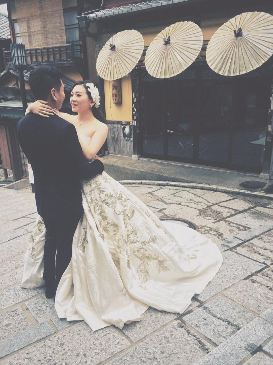 婚禮新秘彩妝造型 Michelle Chang日本京都婚紗