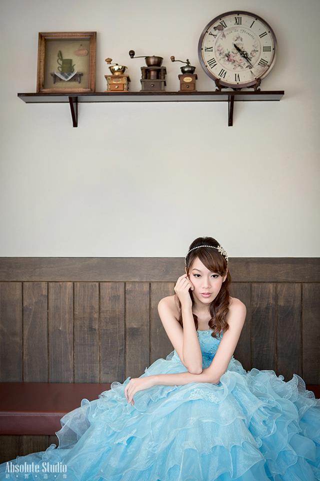 婚禮新秘彩妝造型 Michelle Chang台灣婚紗