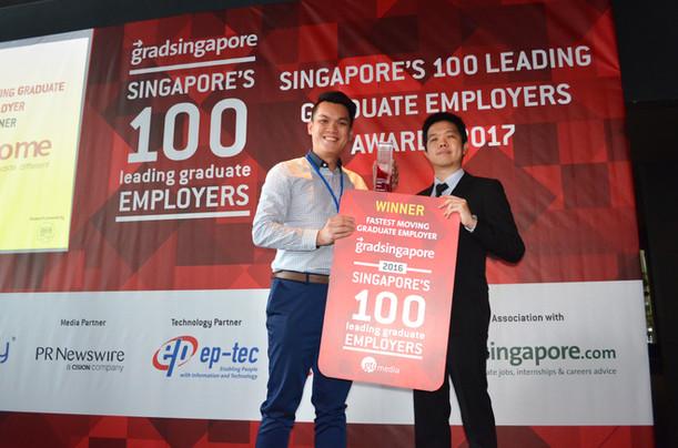 Singapore's 100 Leading Graduate Employers Awards 2017
