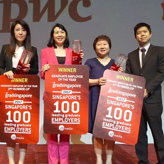 Singapore's 100 Leading Graduate Employers Awards