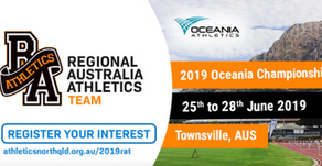 Oceania Championships 2019