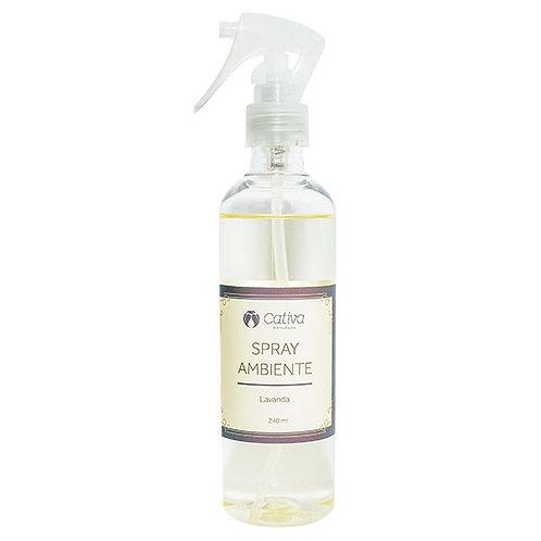 Spray de Ambiente Lavanda Cativa Natureza 240ml