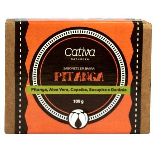 Sabonete Vegetal Pitanga Cativa Natureza 100g
