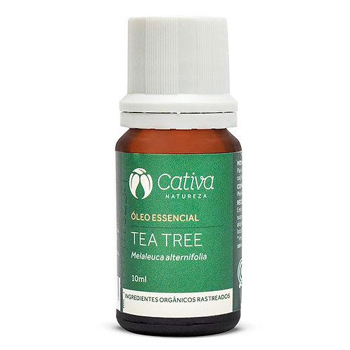 Óleo Essencial de Tea Tree Natural Orgânico