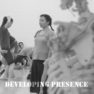 Developing Presence (online workshop)