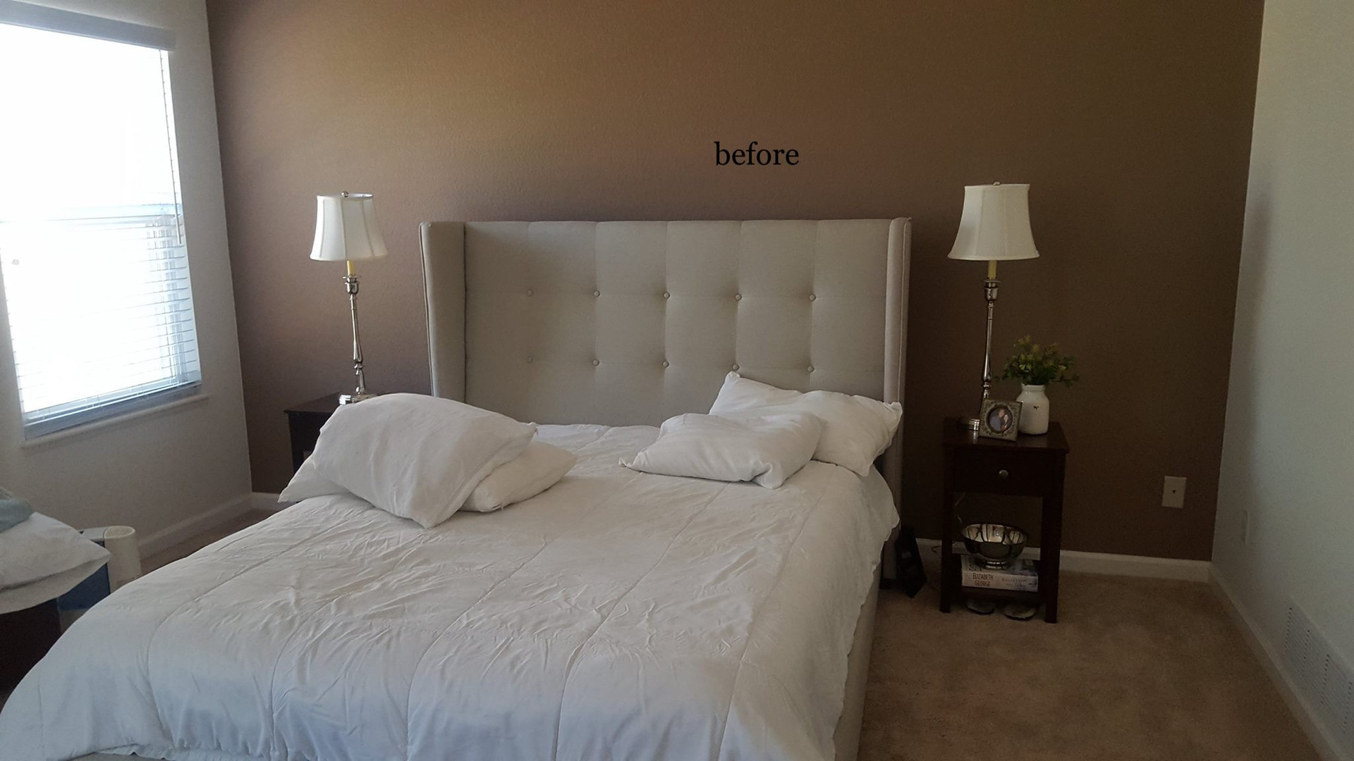 Before - master bedroom