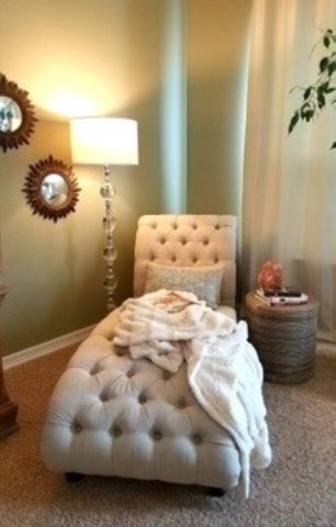 After - reading nook